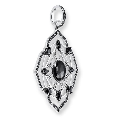 "pendant ""black root chakra"" from the Chakras collection in the THOMAS SABO online store"