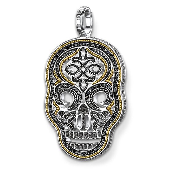 Pendant diamond skull jpe0020 women thomas sabo luxembourg pendant from the rebel at heart collection in the thomas sabo online store mozeypictures Image collections