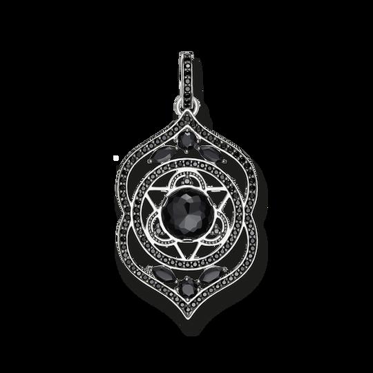colgante Chakra de la frente negro de la colección Chakras en la tienda online de THOMAS SABO