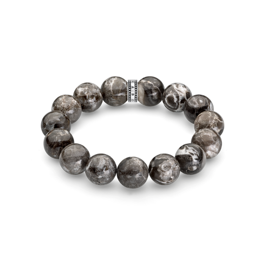 power bracelet grey from the Rebel at heart collection in the THOMAS SABO online store