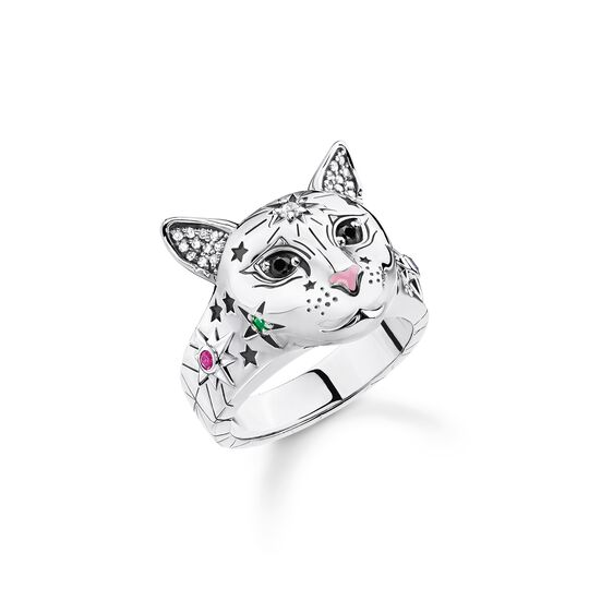 ring cat silver from the  collection in the THOMAS SABO online store