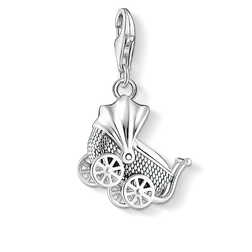 Charm pendant Vintage pram from the Charm Club Collection collection in the THOMAS SABO online store