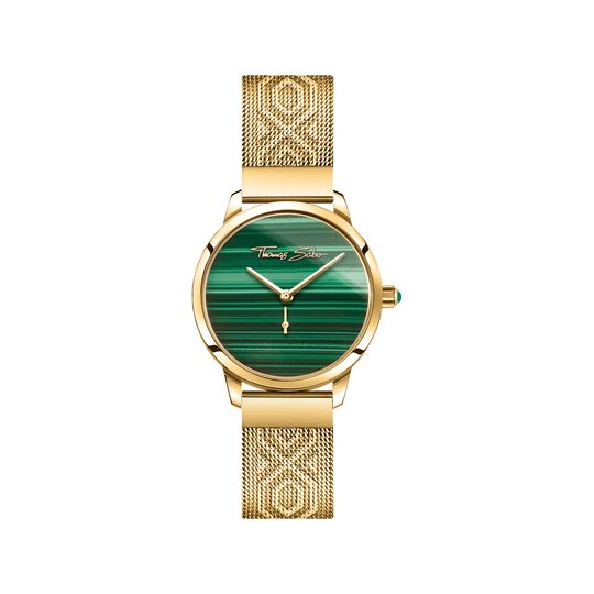 women's watch Garden Spirit malachite gold from the  collection in the THOMAS SABO online store