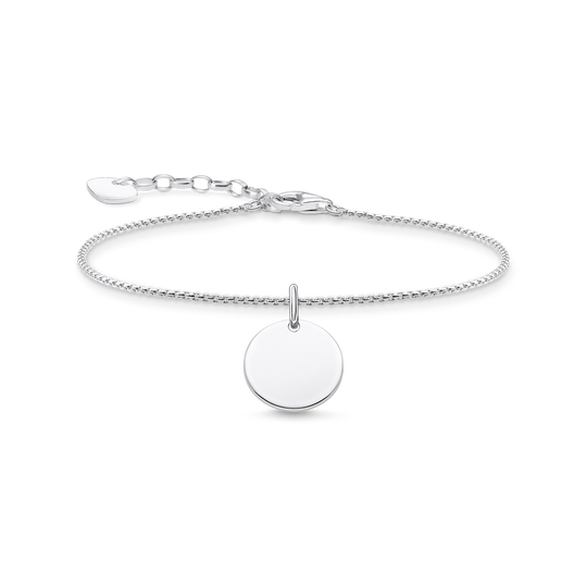 Bracelet with disc silver from the Glam & Soul collection in the THOMAS SABO online store