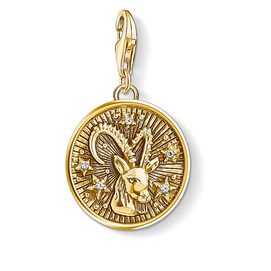 "Charm pendant ""zodiac sign Capricorn"" from the  collection in the THOMAS SABO online store"