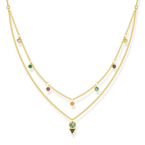 "necklace ""Colourful Stones"" from the Glam & Soul collection in the THOMAS SABO online store"