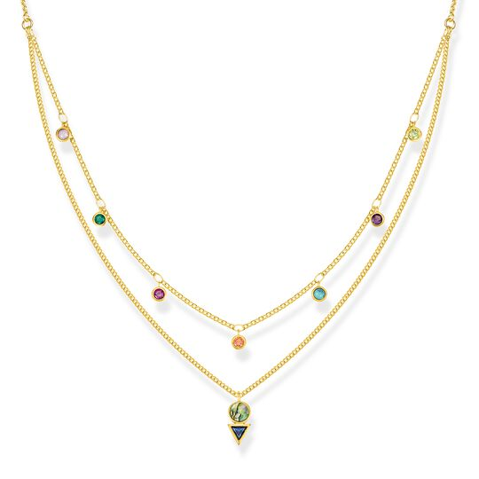 """necklace """"Colourful Stones"""" from the Glam & Soul collection in the THOMAS SABO online store"""