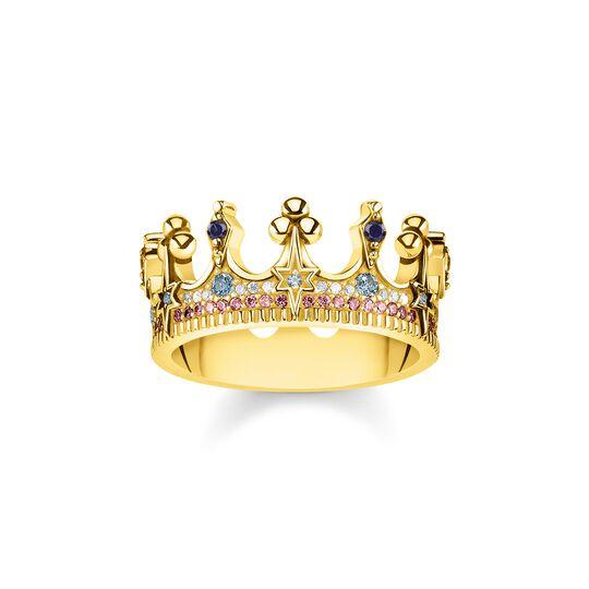Bague couronne dorée de la collection  dans la boutique en ligne de THOMAS SABO