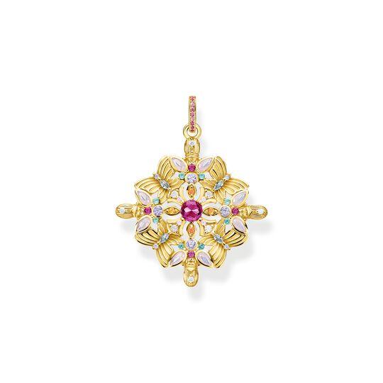 Hängsmycke amulett kaleidoscope fjäril guld ur kollektionen  i THOMAS SABO:s onlineshop