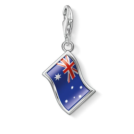 Charm pendant flag Australia from the  collection in the THOMAS SABO online store