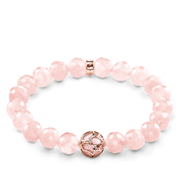 "bracelet ""fleur de lotus rose"" de la collection Glam & Soul dans la boutique en ligne de THOMAS SABO"