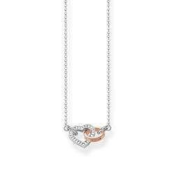 """necklace """"TOGETHER Heart"""" from the Glam & Soul collection in the THOMAS SABO online store"""