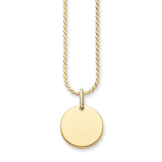 necklace coin from the  collection in the THOMAS SABO online store