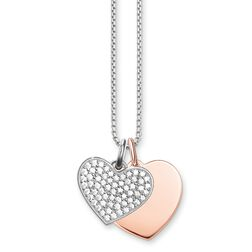 """necklace """"hearts"""" from the Love Bridge collection in the THOMAS SABO online store"""