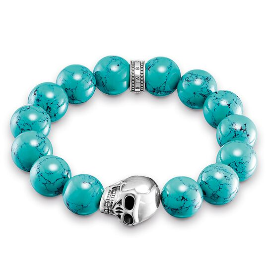 Power Bracelet Ethno Skull from the Rebel at heart collection in the THOMAS SABO online store