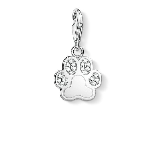 "Charm pendant ""paw"" from the  collection in the THOMAS SABO online store"