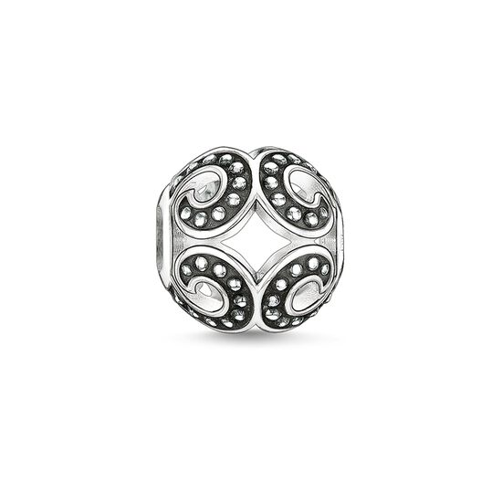 "Bead ""strong wave"" from the Karma Beads collection in the THOMAS SABO online store"