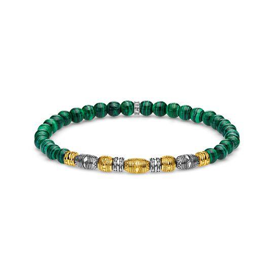 armband Talisman bicolor grön ur kollektionen Glam & Soul i THOMAS SABO:s onlineshop