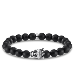 bracciale Teschio di re from the Rebel at heart collection in the THOMAS SABO online store