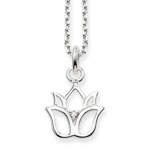 """chaîne """"fleur de lotus"""" de la collection Glam & Soul dans la boutique en ligne de THOMAS SABO"""