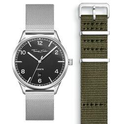 SET CODE TS Reloj negro & correa caqui de la colección  en la tienda online de THOMAS SABO