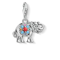 Charm pendant Indian elephant from the  collection in the THOMAS SABO online store