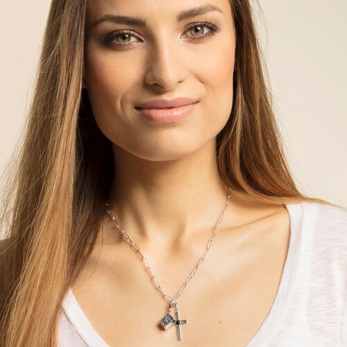 "Charm pendant ""Ethnic cross"" from the  collection in the THOMAS SABO online store"