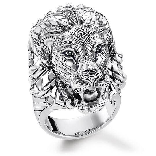"""ring """"Lion"""" from the Glam & Soul collection in the THOMAS SABO online store"""