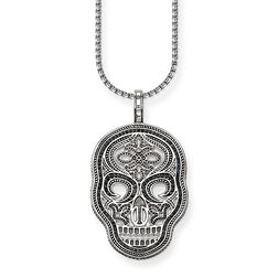 "necklace ""skull mask"" from the Rebel at heart collection in the THOMAS SABO online store"