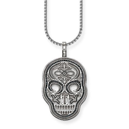 """chaîne """"masque tête de mort"""" de la collection Rebel at heart dans la boutique en ligne de THOMAS SABO"""