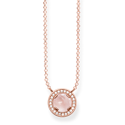 "necklace ""Light of Luna pink"" from the Glam & Soul collection in the THOMAS SABO online store"