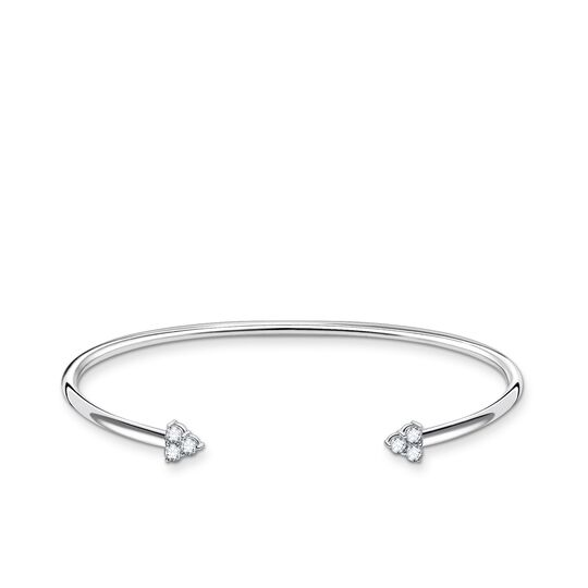 Bangle white stones from the Charming Collection collection in the THOMAS SABO online store
