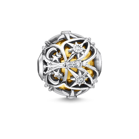 Bead butterfly with stars gold from the Glam & Soul collection in the THOMAS SABO online store