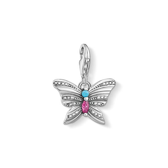 charm pendant butterfly silver from the Charm Club collection in the THOMAS SABO online store
