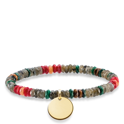 "bracciale ""boho marrone"" from the Love Bridge collection in the THOMAS SABO online store"