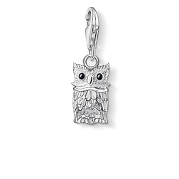 Charm pendant owl from the  collection in the THOMAS SABO online store