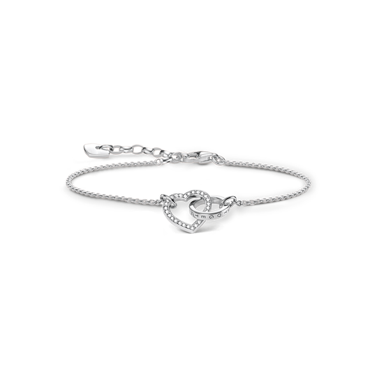 bracelet TOGETHER small heart from the Glam & Soul collection in the THOMAS SABO online store