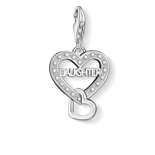 Charm pendant DAUGHTER from the  collection in the THOMAS SABO online store