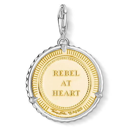 """Charm pendant """"disc lion"""" from the  collection in the THOMAS SABO online store"""