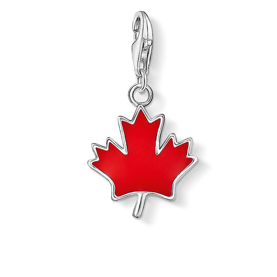 Charm pendant maple leaf from the Charm Club collection in the THOMAS SABO online store