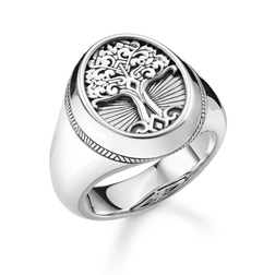 "bague ""Tree of Love"" de la collection Rebel at heart dans la boutique en ligne de THOMAS SABO"
