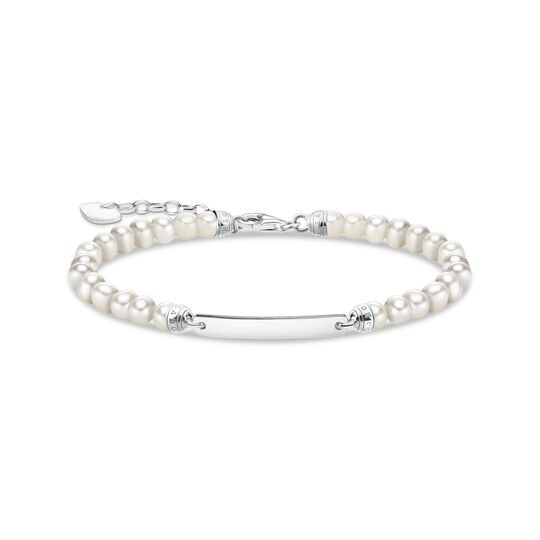 Bracelet pearls silver from the  collection in the THOMAS SABO online store