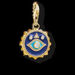 """pendentif Charm """"œil Nazar bleu"""" de la collection  dans la boutique en ligne de THOMAS SABO"""
