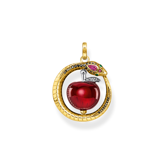 Pendant apple with snake gold from the Glam & Soul collection in the THOMAS SABO online store