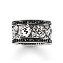 "eternity ring ""sword"" from the Rebel at heart collection in the THOMAS SABO online store"