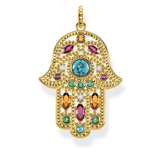 pendant Hand of Fatima from the Glam & Soul collection in the THOMAS SABO online store
