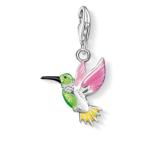 "Charm pendant ""colourful hummingbird"" from the  collection in the THOMAS SABO online store"