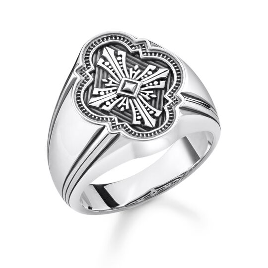 """ring """"Cross"""" from the Rebel at heart collection in the THOMAS SABO online store"""