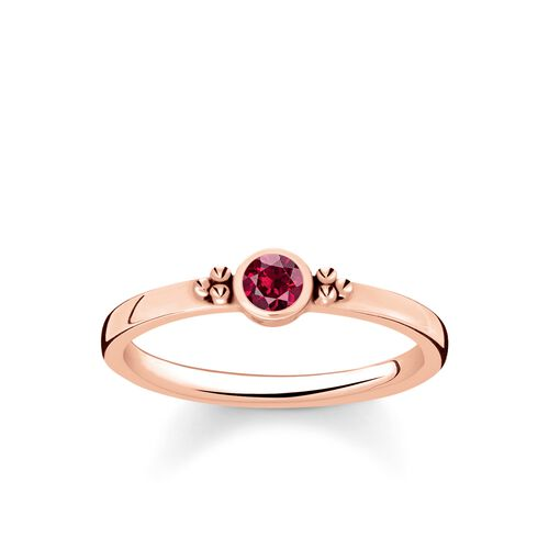 """ring """"Royalty Red Stone"""" from the Glam & Soul collection in the THOMAS SABO online store"""