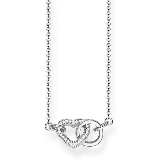 "necklace ""TOGETHER Heart Small"" from the Glam & Soul collection in the THOMAS SABO online store"